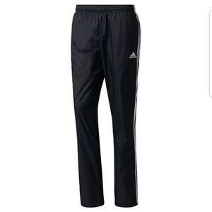 Adidas nylon button wind athletic track vtg pants